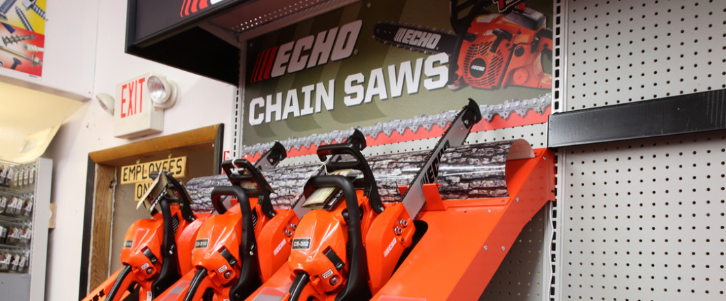 We're the Area's Only Hardware Store With Echo Products!